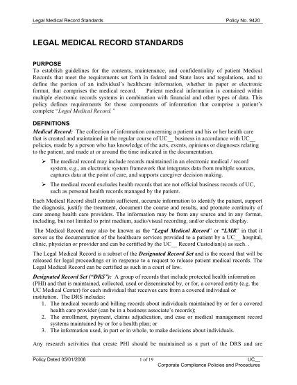 100301721-legal-medical-record-policypdf-legal-medical-record-standards-policy