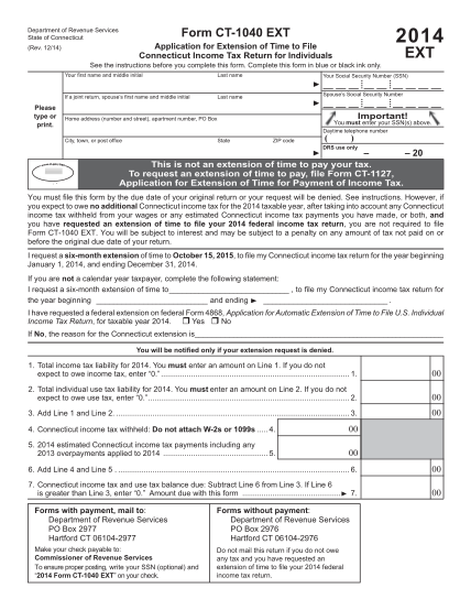 100494050-ct-1040_extpdf-ct-1040-ext-2014-application-for-extension-of-time-to-file-ct