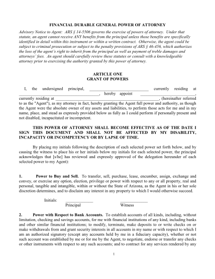 101352456-arizona-durable-financial-power-of-attorney-formpdf-arizona-durable-financial-power-of-attorney-form