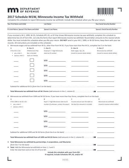 102000555-m1w_17_to_complete_by_handpdf-2017-m1w-minnesota-income-tax-withheld