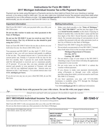 102000953-mi-1040-v_609020_7pdf-2017-michigan-individual-income-tax-e-file-payment-voucher