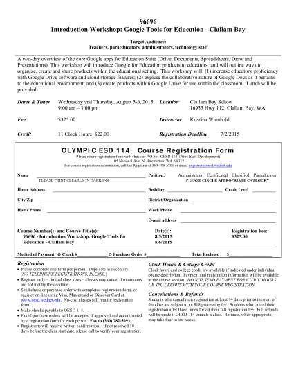 107820631-96696-introduction-workshop-google-tools-for-education-clallam-bb-capeflattery-wednet