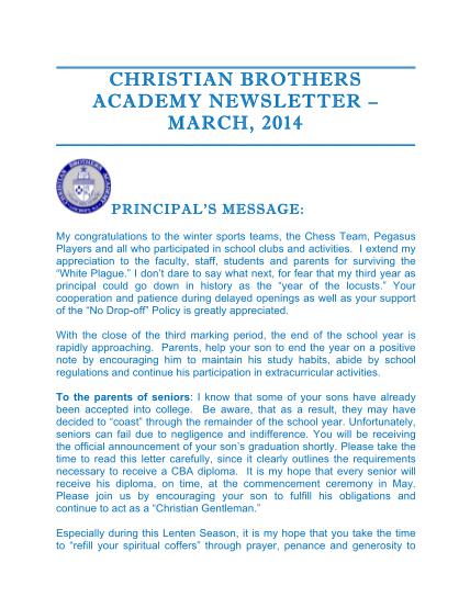 108465655-newsletter-3-draft-2-christian-brothers-academy-cbalincroftnj