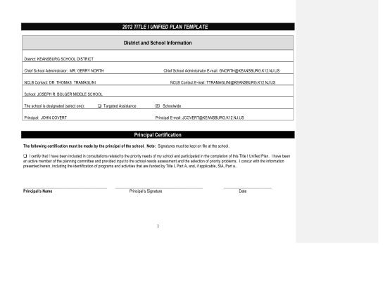 114910410-2012-title-i-unified-plan-template-keansburg-k12-nj