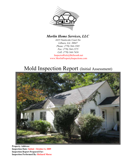 129157509-fillable-morlin-mold-inspection-report-initial-assessment-form