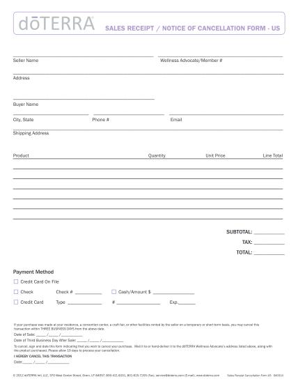 129170756-fillable-doterra-sales-receipt-form