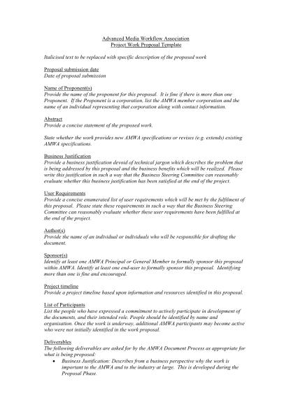 129314717-project-work-proposal-template-advanced-media-workflow-amwa