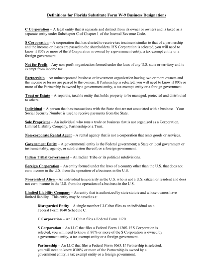 129490564-definitions-for-florida-substitute-form-w-9-business-designations