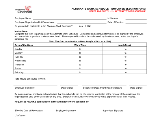 13452943-alternate-work-schedule-employee-election-form-uc