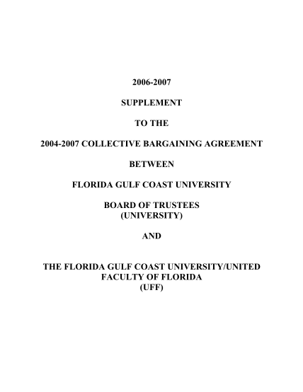 15799251-2007-salary-increase-notification-florida-gulf-coast-university-fgcu