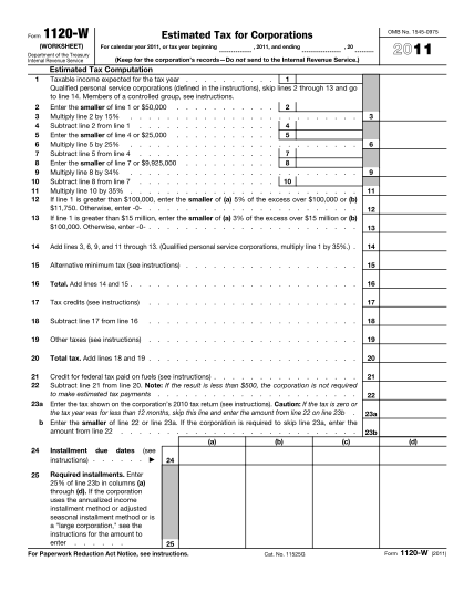 1649241-fillable-form-1120-w-2011