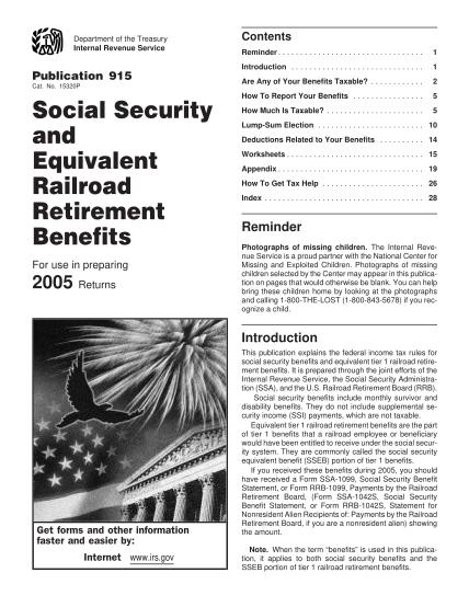 1658406-p915pdf-social-security-benefits-worksheet-fillable-2005-form