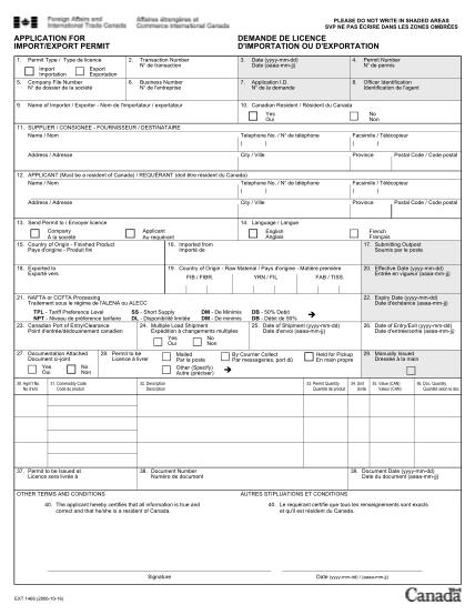 19474705-canada_import_export_permit_applicationpdf-application-for-importexport-permit-demande-de-licence-d