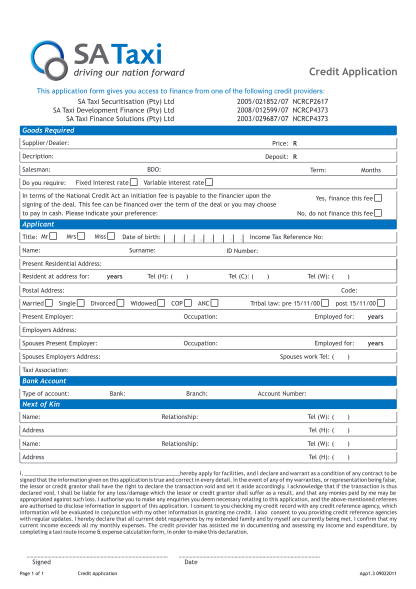 20365314-fillable-sa-taxi-finance-online-application-form