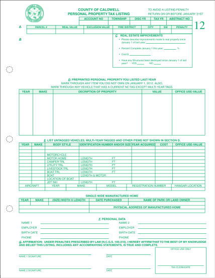 2051139-fillable-fillable-nc-business-personal-property-listing-form-caldwellcountync