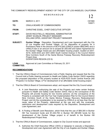 2052293-fillable-city-of-los-angeles-memo-template-form-crala