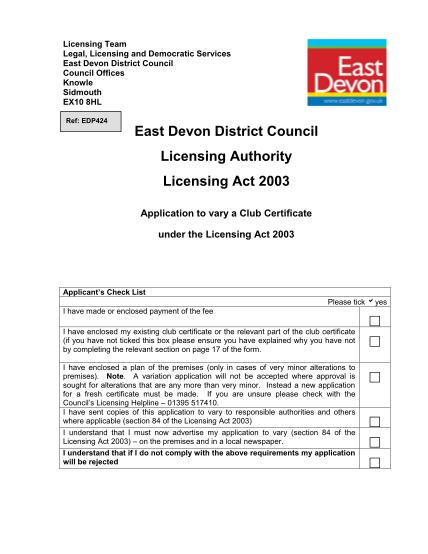 20732605-application-to-vary-a-club-certificate-edp424-east-devon-district-eastdevon-gov