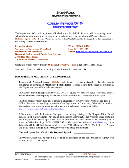 21875236-department-of-corrections-memo-template-florida-department-of-dc-state-fl
