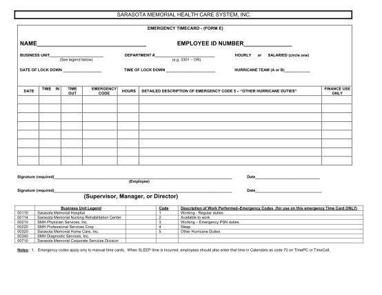 21902802-emergency-time-card-pdf-sarasota-memorial-hospital