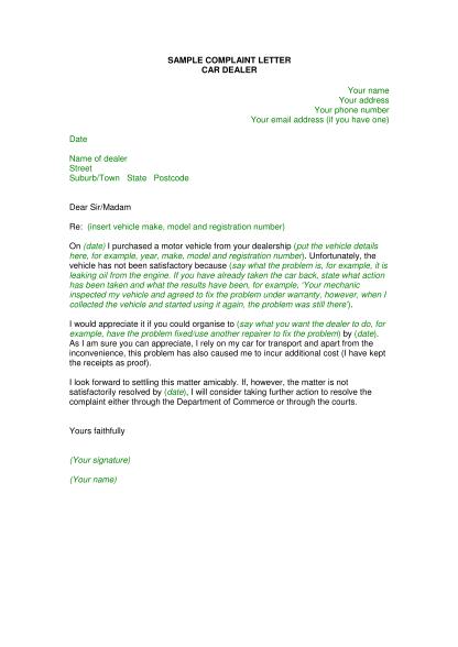 23660553-fillable-letter-complaining-about-car-to-car-dealership-form-commerce-wa-gov