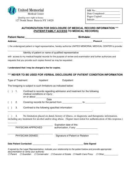 242468334-authorization-for-disclosure-of-mr-infopdf-authorization-for-bdisclosureb-of-medical-records-united-memorial-bb-ummc