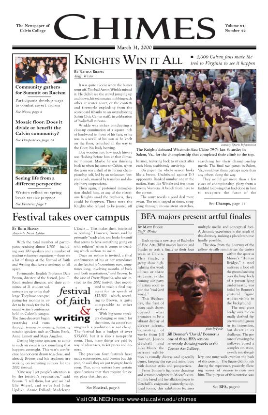 25681560-issue-pdf-calvin-college-student-organizations
