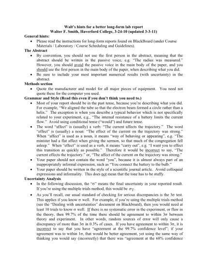 26011713-waltamp39s-hints-for-a-better-long-form-lab-report-walter-f-smith-haverford