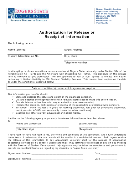 261241455-authorization-for-release-or-receipt-of-information-rsu