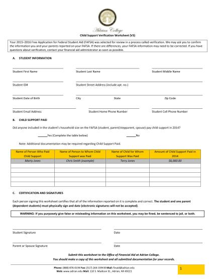 261462380-child-support-verification-worksheet-v3-a-student-adrian