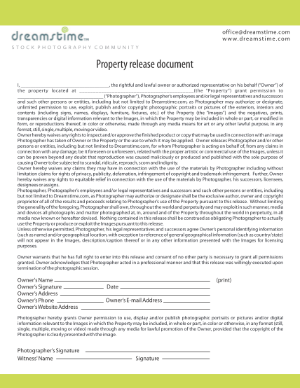262470646-property-release-document-dreamstime