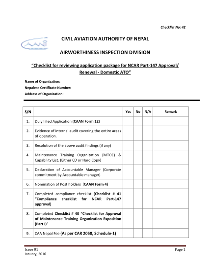 271684291-_1455602011pdf-42-checklist-for-application-package-domestic-flightsafetycaan-org