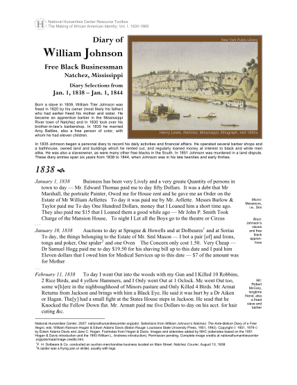 277111972-diary-of-william-johnson-black-businessman-selections-from-jan-1-1838-jan-1-1844-identity-the-making-of-african-american-identity-nationalhumanitiescenter