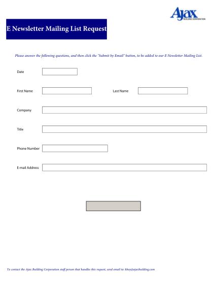 289783087-e-newsletter-mailing-list-request-ajax-building-corporation