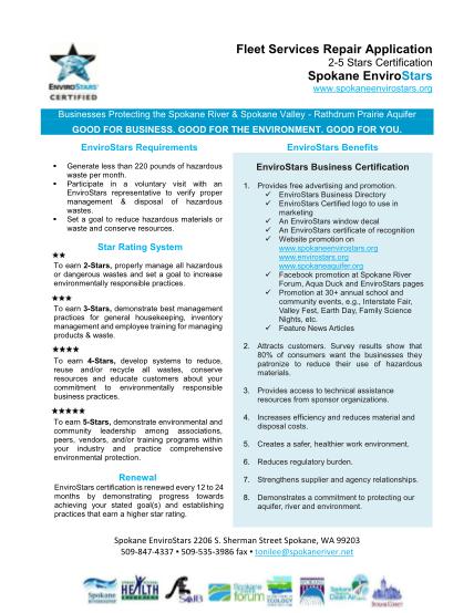 289874169-fleet-services-repair-application-2-5-stars-certification