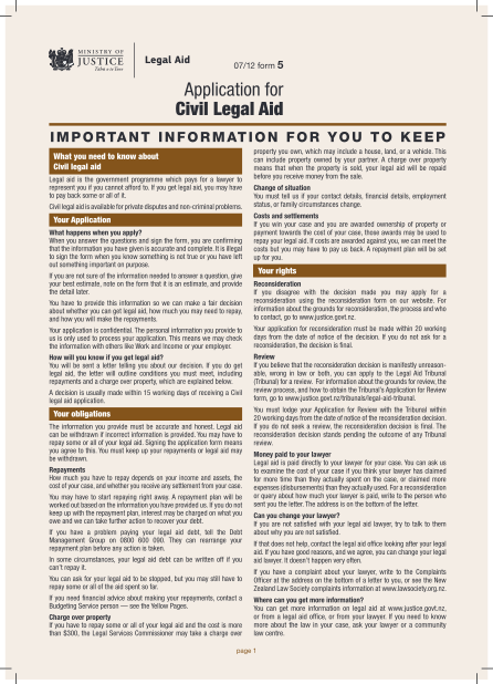 29182220-form-5-application-for-civil-legal-aid-ministry-of-justice-new-justice-govt