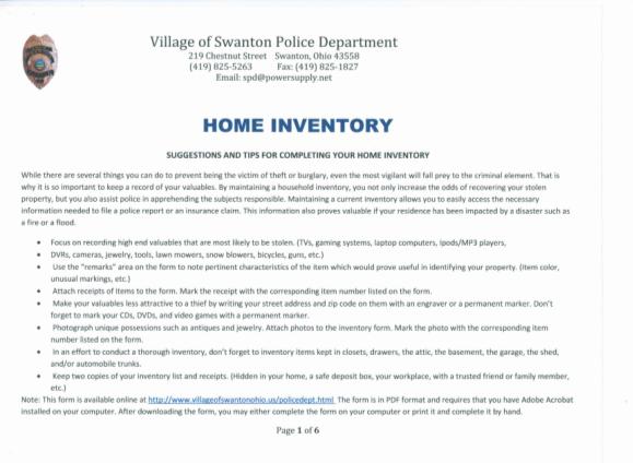 30346831-home-inventory-village-of-swanton