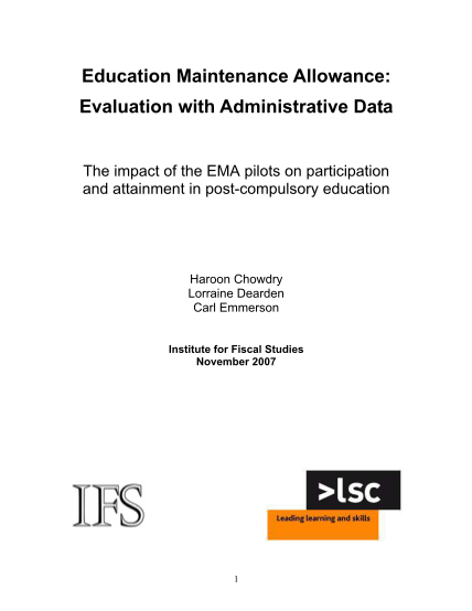 306099684-education-maintenance-allowance-evaluation-with-administrative-data-eprints-ucl-ac