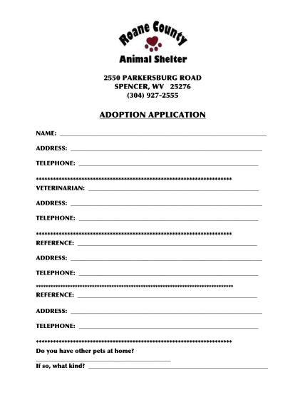 310994018-adoption-applicationpdf-adoption-application-roane-county-animal-shelter