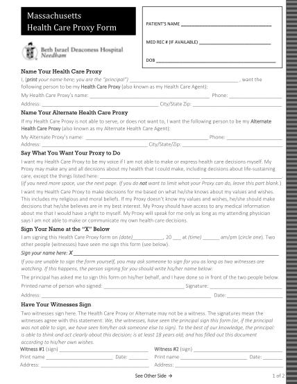 315409915-hcp-form-bidn-201604-finalpdf-health-care-proxy-form-beth-israel-deaconess-hospital-needham-bidneedham