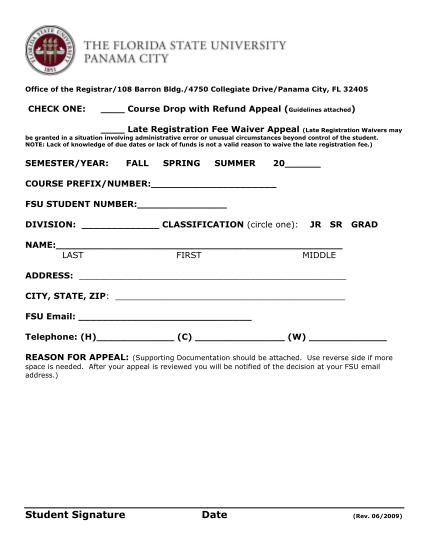 318832332-office-of-the-registrar108-barron-bldg4750-collegiate-pc-fsu