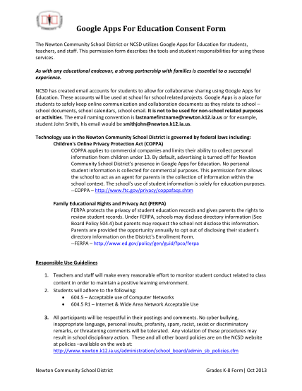 321821811-google-apps-for-education-consent-form-newton-community-newtoncsd