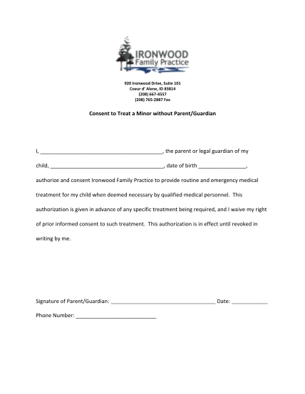 330976346-consent-to-treat-a-minorpdf-consent-to-treat-a-minor-without-parentguardian-i-ironwood
