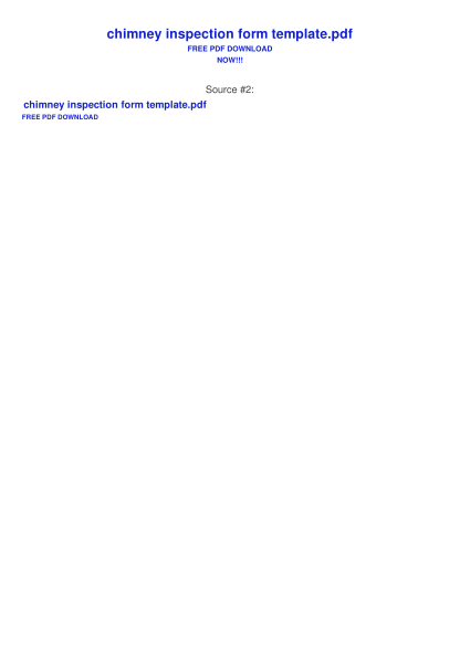 331461200-chimney-inspection-report-template