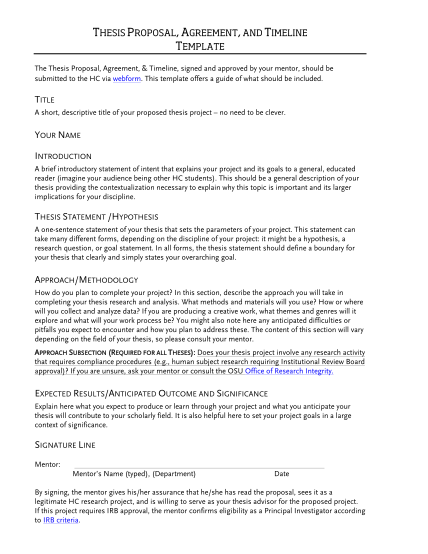 333884305-thesis-proposal-agreement-and-timeline-template-honors-oregonstate