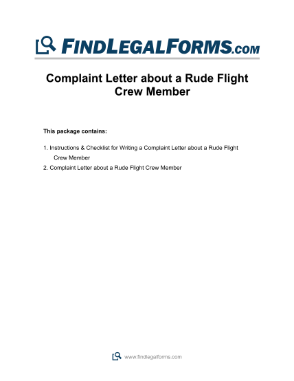 34120028-complaint-letter-about-a-rude-flight-crew-member-findlegalforms