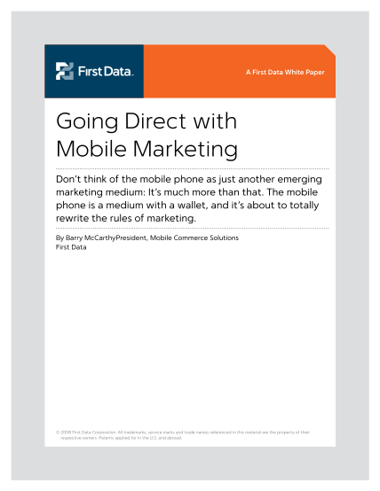 34342702-going-direct-with-mobile-marketing-first-data