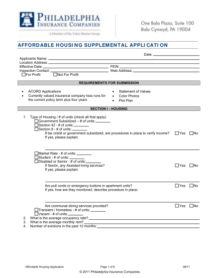 34805675-affordable-housing-supplemental-application-philadelphia
