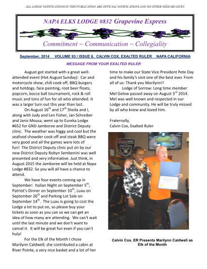 348482561-all-lodge-notifications-in-this-publication-are-official-notifications-and-no-other-need-be-given-napa-elks-lodge-832-grapevine-express-commitment-communication-collegiality-september-2014-volume-93-issue-6-calvin-cox-exalted-ruler