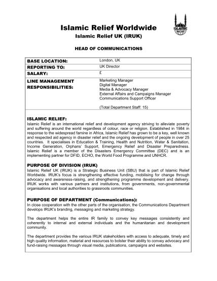 349390902-job-description-islamic-relief-islamic-relief-org
