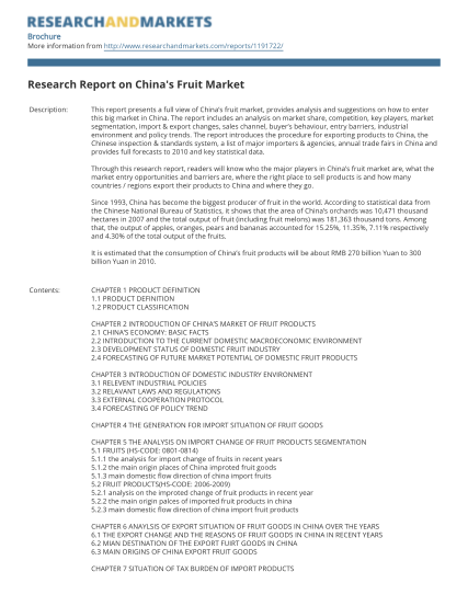 35040045-research-report-on-chinaamp39s-fruit-market-research-and-markets